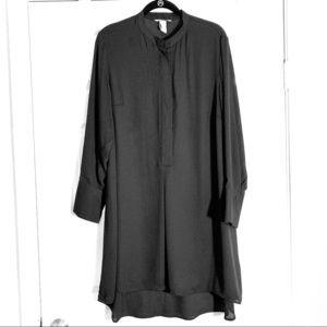 H&M Long Sleeve Blouse/Shirt Button Down Dress